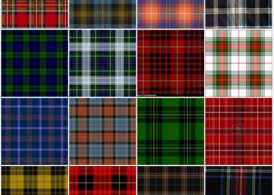 Tartan écossais Highlands Scotland